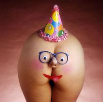 Happy Birthday Butt Face by Stan  Fellerman