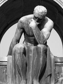 Lugano, Switzerland - Thinking Sculpture by Monica Goslin