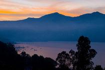 Sunrise in Valle de Bravo, Mexico