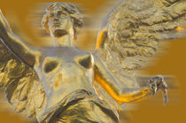 Angel in gold von Ricardo Anderson