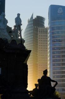 Sunset Sculptures in Paseo de la Reforma by Ricardo Anderson
