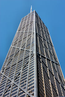 Chicago John Hancock Center by Ian C Whitworth