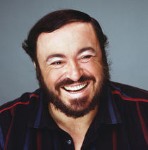 Luciano Pavarotti by Stan  Fellerman