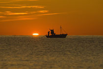Fisherman at Sunrise von Simon Littlejohn
