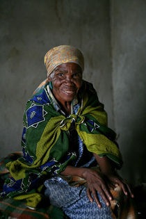 Swaziland smile by Mike Greenslade