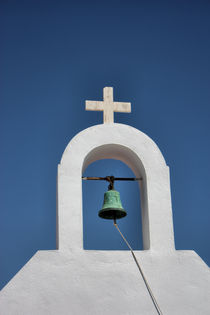 Mykonos Church Bell by Ian C Whitworth