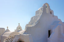 Mykonos Panagia Paraportiani by Ian C Whitworth