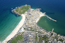 St Ives Aerial von Mike Greenslade