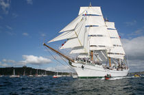 Tall Ships Race, Falmouth von Mike Greenslade