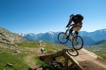 Mountain Bike Jump von Matt Cope