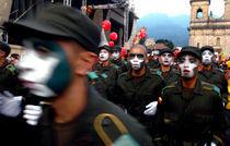 Policemen Make-up von Rafa Salafranca