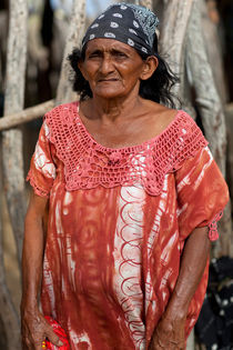 Wayuu Woman Portrait by Rafa Salafranca