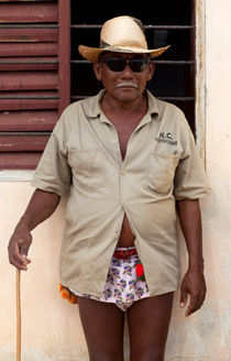 Wayuu Men Portrait von Rafa Salafranca