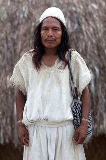 Arahuaco Man Portrait von Rafa Salafranca