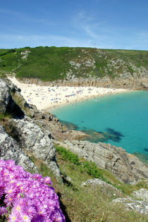 Porthcurno, Cornwall von Mike Greenslade