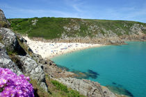 Porthcurno, Cornwall von Mike Greenslade