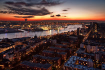 Harbor Sunset by Stefan Kloeren