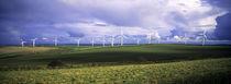 Newlyn Downs Wind Farm, Cornwall von Mike Greenslade