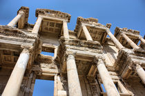 Library Ruins in Ephesus by Ian C Whitworth