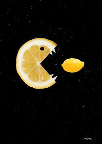 Lemon eats lemon von Boriana Giormova