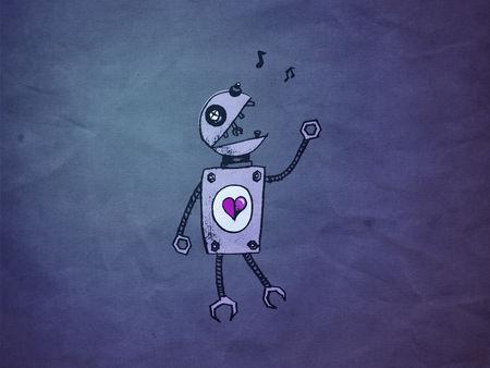 Bluepaperrobot