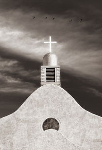 San Ysidro Curch  New Mexico by Peter Apers
