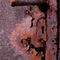 Oxidado-cerradura