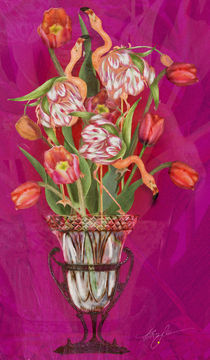 Tip Toeing thru the Tulips von Alma  Lee