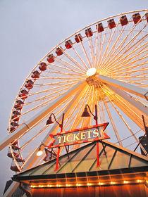 Ferris wheel and ticket booth von Vincent Demers