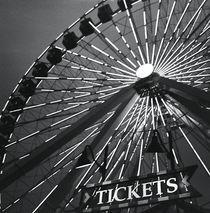 Big wheel in black and white von Vincent Demers