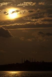 bosphorus sunset2 by Bora eresici