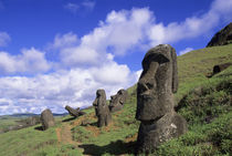 Easter Island Moais by Wolfgang Kaehler
