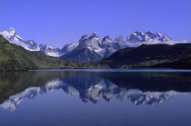 Torres del Paine Reflections von Wolfgang Kaehler