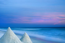Sandcastles at Sunset by Melissa Salter