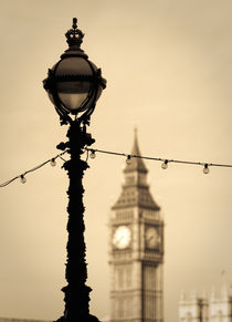London. Big Ben. by Alan Copson