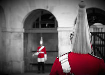 London. Horse Guards Parade. Guardsman. von Alan Copson