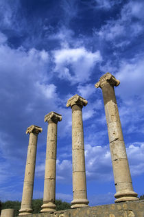 Clouds over Roman Ruins by Wolfgang Kaehler