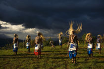 Dancers under Storm Clouds by Wolfgang Kaehler