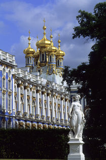 St. Petersburg, Cathrine Palace by Wolfgang Kaehler