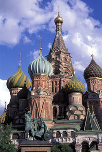 St. Basil's Cathedral by Wolfgang Kaehler