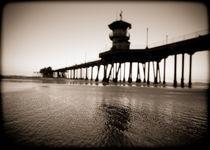 Huntington Beach Pier von Tracey  Tomtene