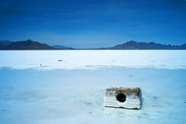 Boneville Salt Lake Flats in Utah/USA von Benjamin Hiller