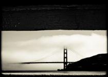 Golden Gate Bridge from Ferry von Tracey  Tomtene