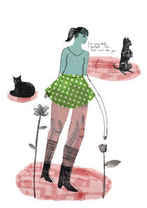 I like cats more than you von Karolien Vanderstappen