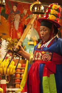 Shamanic ritual in Incheon/South Korea von Benjamin Hiller