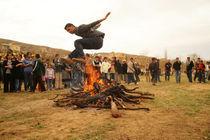 Kurdish Newroz in Hasankeyf / Southeast Turkey von Benjamin Hiller