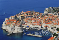 Old Town, Dubrovnik Croatia by Melissa Salter