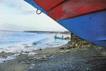 Colorful Boat, San Mateo Ecuador von Melissa Salter