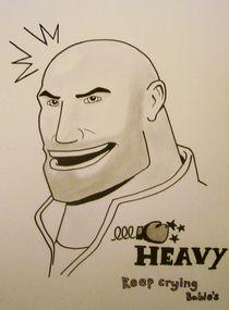 Heavy weapons guy by Gregg Morrison