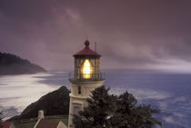 NA, USA, Oregon, Oregon Coast Heceta Head Lighthouse, State Scenic Viewpoint von Danita Delimont